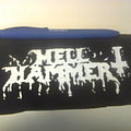Hellhammer - Patch - d.i.y. hand painted hellhammer patch