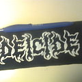 Deicide - Patch - d.i.y. hand painted deicide patch