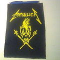 Metallica - Patch - d.i.y. hand painted metallica patch