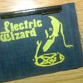 Electric Wizard - Patch - d.i.y. hand painted electric wizard patch