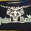 Judas Priest - Patch - d.i.y. hand painted judas priest backpatch