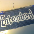 d.i.y. hand painted entombed patch