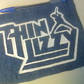 Thin Lizzy - Patch - d.i.y. hand painted thin lizzy patch