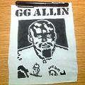 GG Allin - Patch - d.i.y. hand painted gg allin patch
