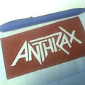 Anthrax - Patch - d.i.y. hand painted anthrax patch