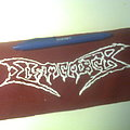 Dismember - Patch - d.i.y. hand painted dismember patch