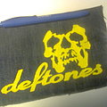 Deftones - Patch - d.i.y. hand painted deftones patch