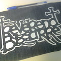d.i.y. hand painted reverend bizarre backpatch