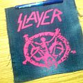 Slayer - Patch - d.i.y. hand painted slayer patch