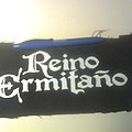 Reino Ermitaño - Patch - d.i.y. hand painted reino ermitaño patch