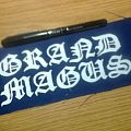 Grand Magus - Patch - d.i.y. hand painted grand magus patch
