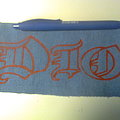 Dio - Patch - d.i.y. hand painted dio patch