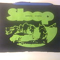 Sleep - Patch - d.i.y. hand painted sleep backpatch
