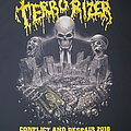 Terrorizer - TShirt or Longsleeve - Terrorizer conflict and despair 2018 tour shirt