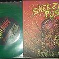 Sneezing Pus / Vomi Noir – Putrid Necrotomy / Toutes Les Couleurs De La Cacophonie Humorale 2019 Tape / Vinyl / CD / Recording etc