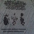 Wrong Illegal Abortion Procedure With Alarming Consequences SHIRT