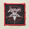Venom - Welcome To Hell Patch (red border)
