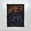 Slayer Logo vintage printed patch