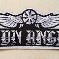 Iron Angel Logo Shape Patch
