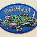 Motörhead - Motherfucker Heinkel He 177 Bomber Patch (blue border)