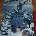 Helloween My god given right signed poster Other Collectable