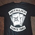Metallica since 1981 tshirt L/XL