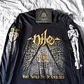 2018 Nile European tour longsleeve