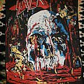 Slayer South of Heaven backpatch