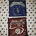 Original Metallica patches