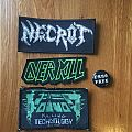 Patches (Overkill, Voivod, Necrot)