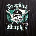 Dropkick murphys skull t-shirt