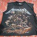 Metallica Ride the Lightning sleeveless tshirt