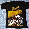 Mayhem Dawn of the Black Hearts tshirt