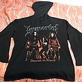 Immortal Damned in Black 2 sided L size Hoodie