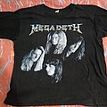 Megadeth Countdown to Extinction 2 sided XL size tshirt