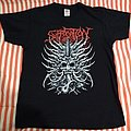Suffocation Japanese Mask 2 sided L size tshirt