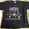 Belphegor Necrodaemon Terrorsathan 2 sided M size tshirt