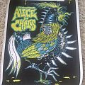 Alice In Chains screenprinted gig poster