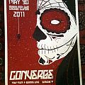 Converge screen printed gig poster