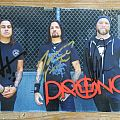 Prong signed photo card