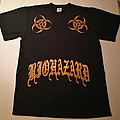 Biohazard tattoo 2010 shirt