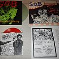 "S.O.B - 2x LP + 1x 7"" EP [Don't Be Swindle & Leave Me Alone, Symphonies Of Brutality, Brutal Truth / S.O.B. Split]"