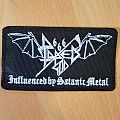 Raped God 666 - Influenced by Satanic Metal Patch