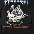 ONSLAUGHT - Power From Hell Long Sleeve TShirt or Longsleeve