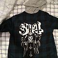 Custom Ghost flannel Battle Jacket