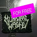 "GIVEAWAY: ""Municipal Waste"" Patch (official)"