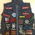 Finally done my first battle jacket I'm so happy it's complete