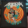 """Anthrax - Patch - Anthrax Official """"State Of Euphoria"""" Patch"""