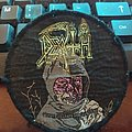 """Official 1989 Death """"Leprosy"""" patch (pink version)"""