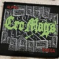 """Cro-mags - Patch - Official 1993 Cro-Mags """"Alpha Omega"""" patch"""